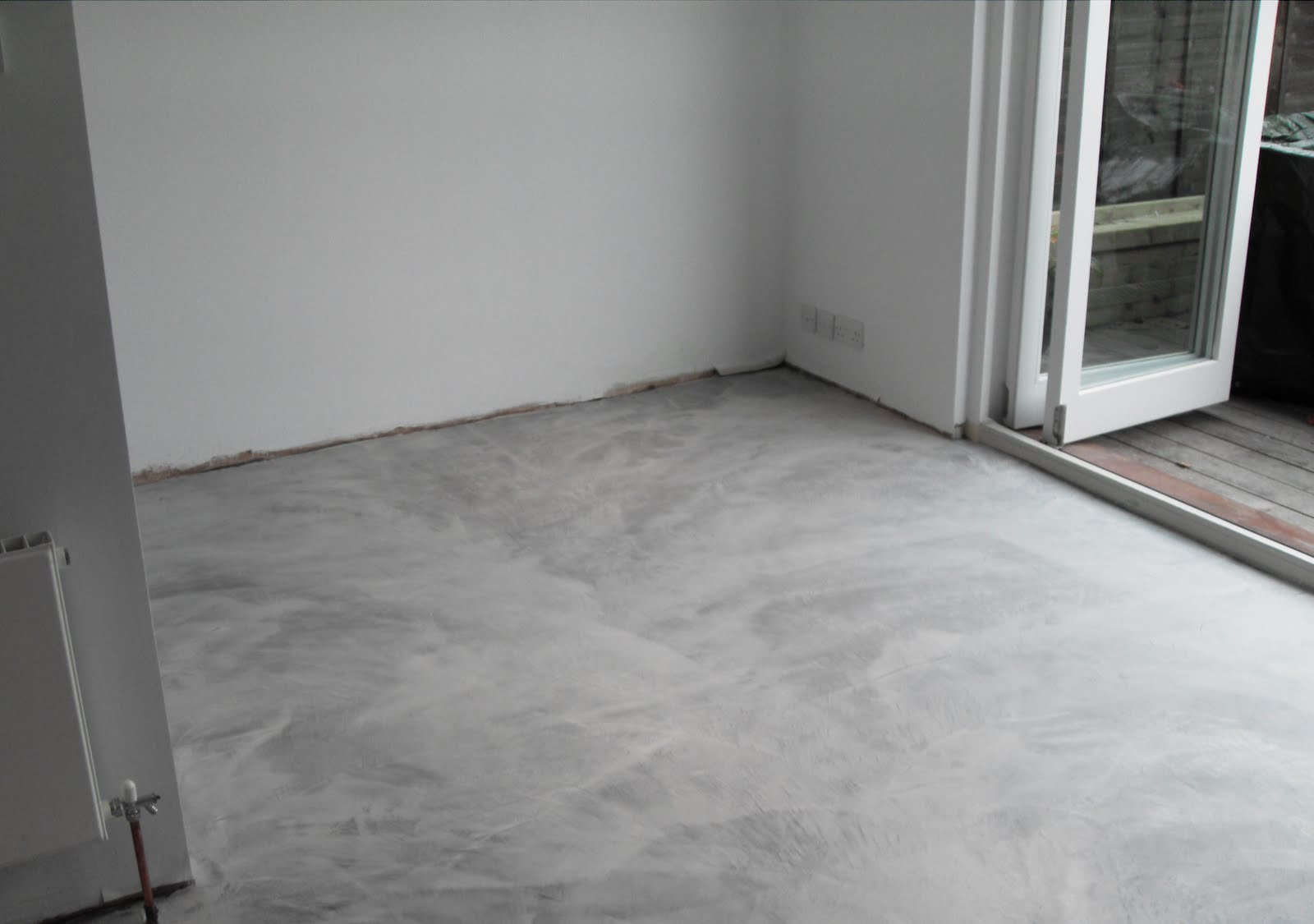 Project microcement flooring richmond residential for On the floor on the floor