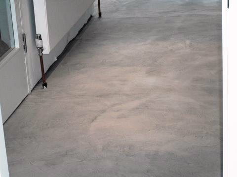 Project microcement flooring richmond residential for Micro floor