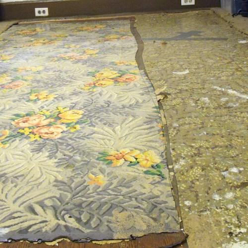 Linoleum or Vinyl floor