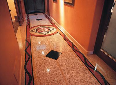 Terrazzo Corporate Flooring